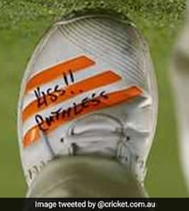 Australian Pacer Uses Shoe Messages To Keep Himself Motivated