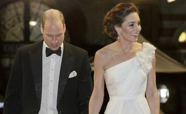 BAFTA 2019: Kate Middleton, Vision In White, Sparkles In Princess Diana's Earrings
