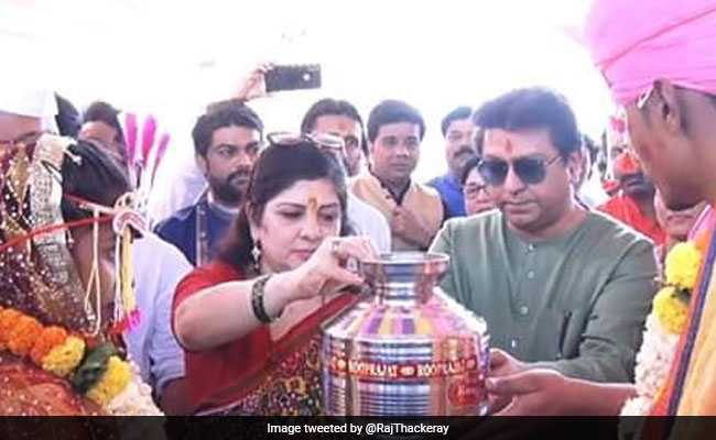 After Son's Wedding, Raj Thackeray Hosts Mass Marriage For 500 Couples