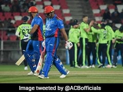 2nd T20I Live: Afghanistan Opt To Bat Against Ireland