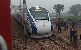 India's Fastest Train, Vande Bharat Express, Breaks Down Day After Launch