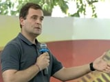 "Video : ""Narendra... Sorry, Nirav Modi"": Rahul Gandhi's Fumble At Chennai College"