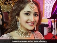 Inside Actors Sayyeshaa Saigal And Arya's Pre-Wedding Festivities With Sanjay Dutt And Other Stars