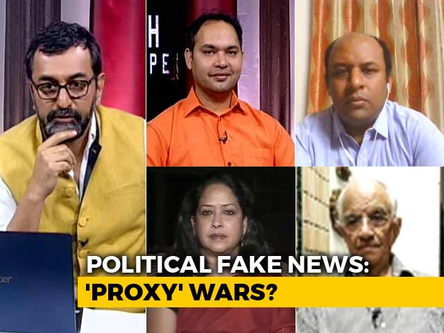 Video : Fake News vs Election Commission: 'Proxies' Blur Lines?