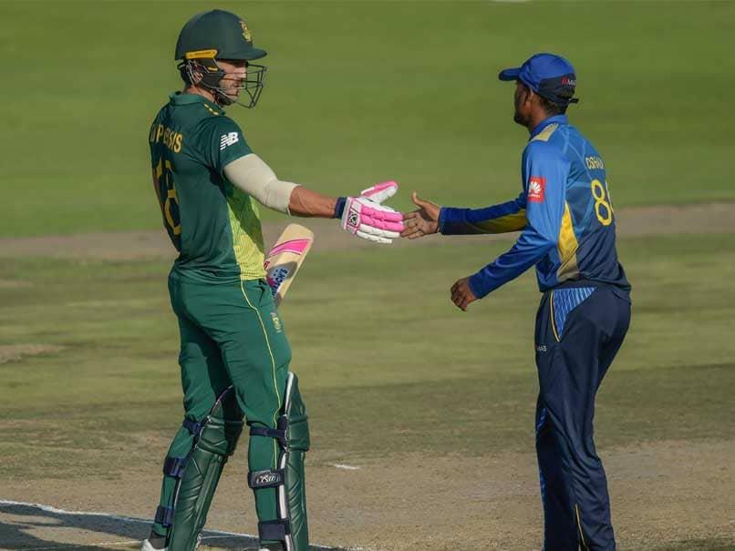 1st ODI: Faf Du Plessis, Imran Tahir Star As South Africa Beat Sri Lanka To Take Series Lead