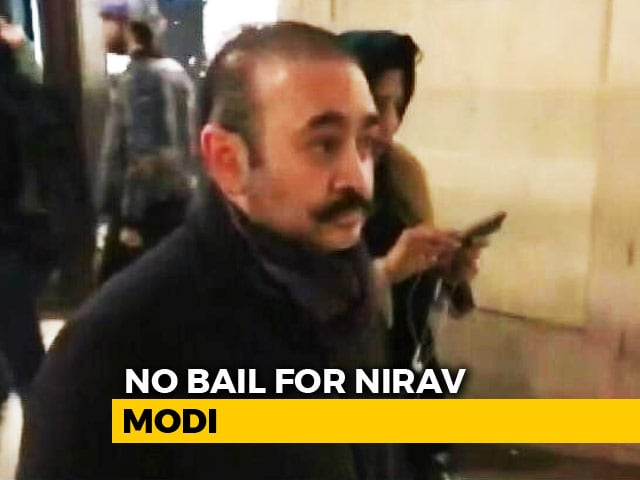 Video : Nirav Modi, Accused In PNB Scam, Denied Bail Again By London Court