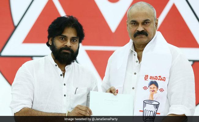 Pawan Kalyan's Brother, Actor Naga Babu Joins Jana Sena, To Fight Polls
