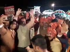 Jabalpur Top Cop Dances With Minister On Video. BJP Wants Him Removed