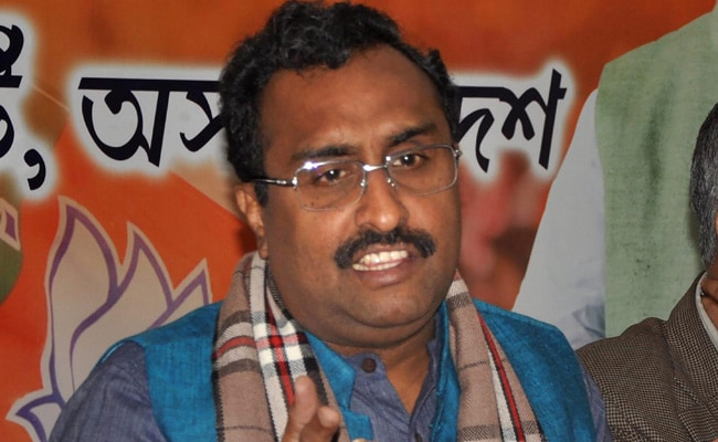 'Keep Off Indian Elections': Ram Madhav's Stern Message To Imran Khan