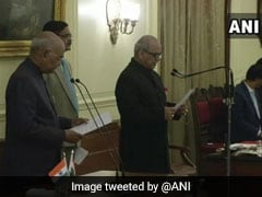 Ex-Top Court Judge Justice PC Ghose Takes Oath As India's First Lokpal