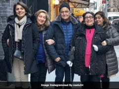 Rishi Kapoor And Wife Neetu Will 'Soon' Be On Flight Home From USA. See Her Post