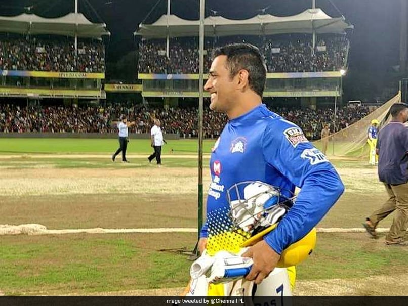 Watch: MS Dhoni Gets Rapturous Reception In Chepauk, Former Cricketers And Fans Left Speechless