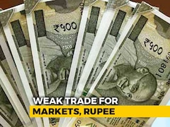 Video: Sensex, Nifty Drop In Early Trade; Rupee Slips