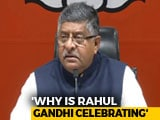 "Video : ""Must Be Headline In Pak"": BJP On Rahul Gandhi's ""Modi Scared Of Xi"" Dig"
