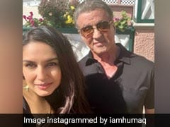 Huma Qureshi's Rendezvous With <i>Rocky</i> Star Sylvester Stallone