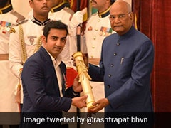 Padma Shri Gautam Gambhir Takes A Dig At Critics After Receiving Honour