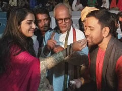 निरहुआ बीजेपी में हुए शामिल तो आम्रपाली दुबे ने कुछ इस अंदाज में मनाया जश्न