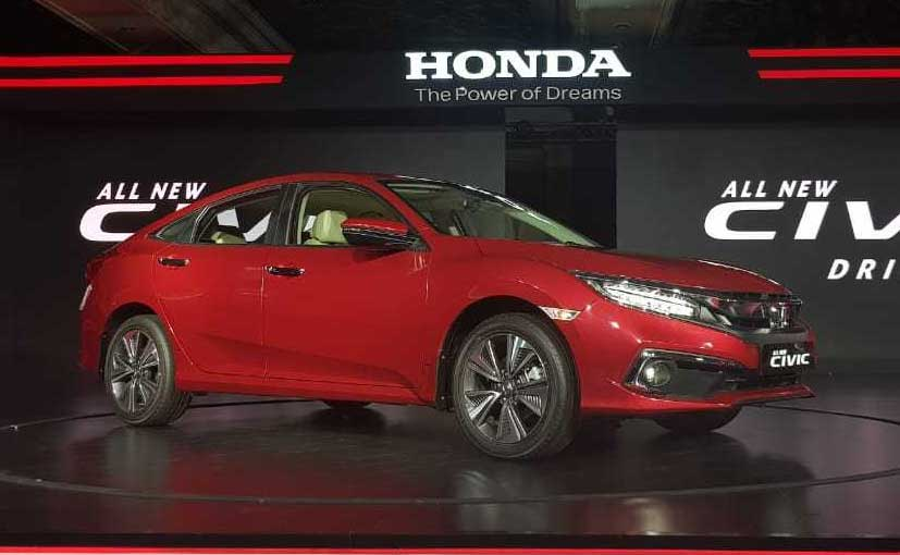 Honda Civic New >> 2019 Honda Civic Launched In India Prices Start At Rs 17 70 Lakh Carandbike