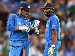MS Dhoni Overtakes Rohit Sharma To Register Remarkable Record For India In ODIs