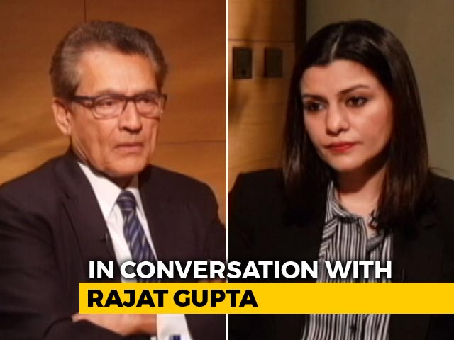 Video : Rajat Gupta's Tell-All: The Rise And Fall Of Wall Street's Poster Boy