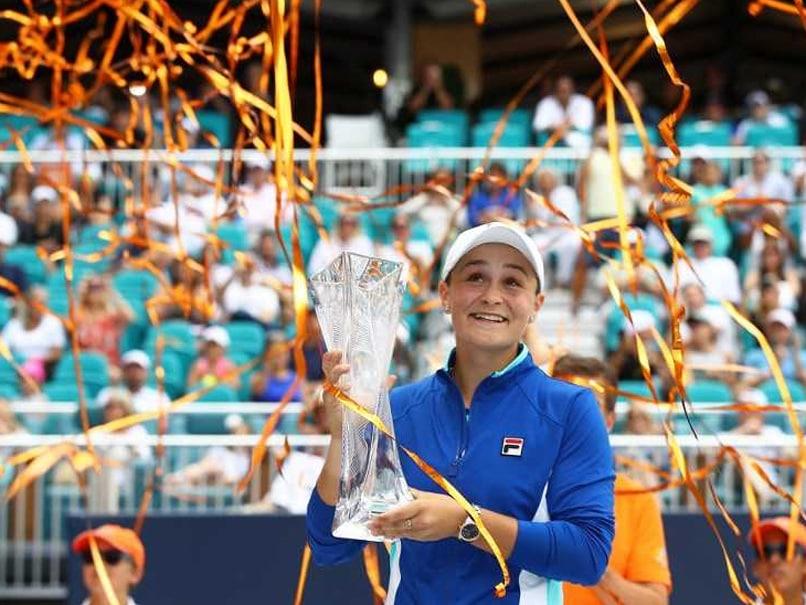 Ashleigh Barty Defeats Karolina Pliskova To Capture WTA Miami Open Title