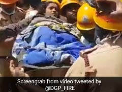 Watch: Stuck For 70 Hours Under Collapsed Building, Karnataka Couple Rescued