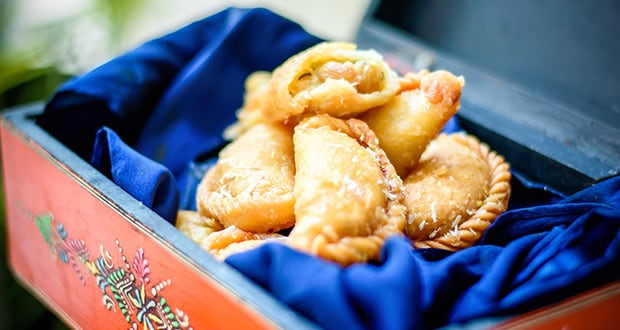 Almond & White Chocolate Gujiya