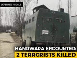 Video : 2 Terrorists Killed In Encounter In Jammu And Kashmir's Kupwara