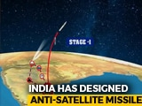 "Video : India's ASAT Missile Launch Was ""Surgical Strike"" In Space: Scientists"