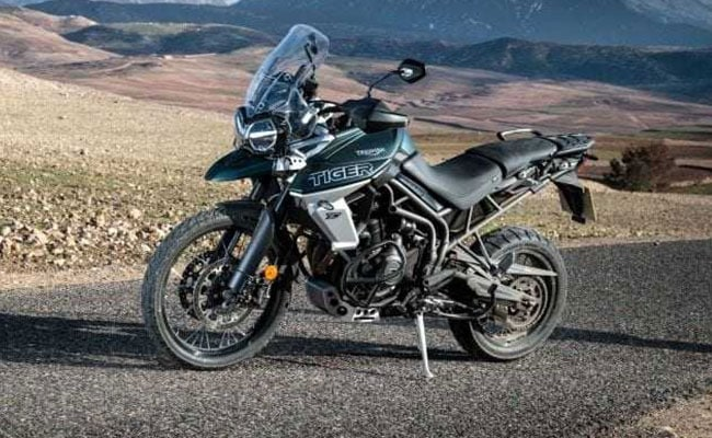 The Triumph Tiger 800 XCA is the top-spec model in the Tiger 800 series