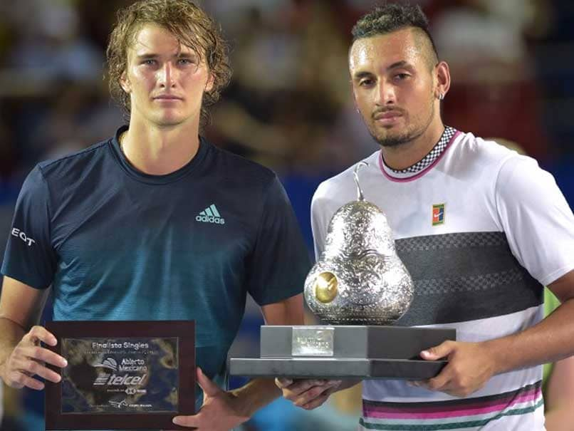 Nick Kyrgios Beats Alexander Zverev To Win Acapulco ATP Crown