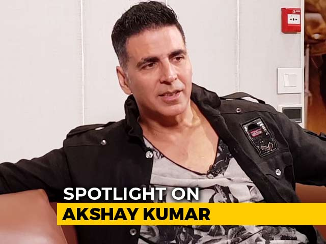Video : Spotlight: Akshay Kumar On <i>Kesari</i>, His Career Choices, And More