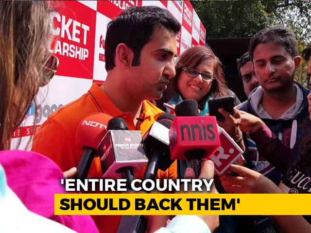 Video : India Should Be Ready To Forfeit Pakistan Match, Says Gautam Gambhir