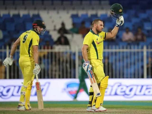 Aaron Finch Century Fires Australia To Eight-Wicket Win Over Pakistan In 1st ODI