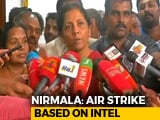 Video : Defence Minister Breaks Silence On Balakot Death Count Amid Questions