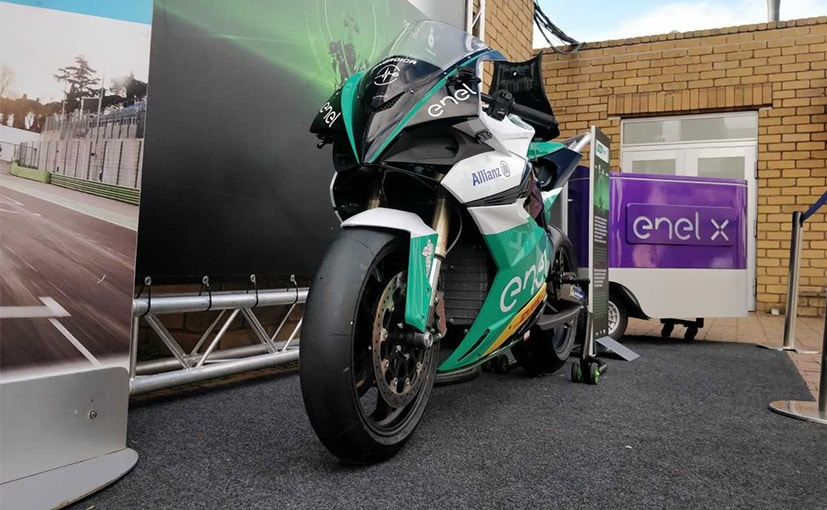 Energica has got a contract extension to be the single motorcycle supplier for MotoE till 2022