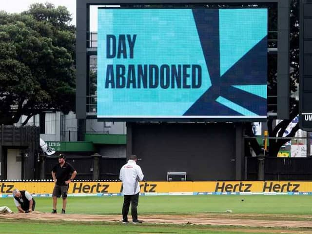 New Zealand vs Bangladesh 2nd Test Washed Out For Second Day