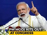 "Video : ""Honesty Over Dynasty"": PM Modi Attacks Congress In Blog"