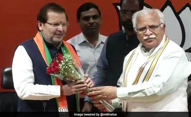 Society Has Grown Under Modi Government: Congress Lawmaker On Joining BJP