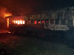 Train From Bengaluru Catches Fire, Many Trains In Andhra Pradesh Delayed