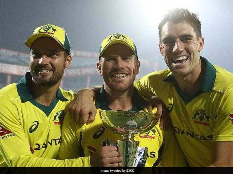 "Aaron Finch Praises Australia After ""Unbelievable"" Series Win Against India"