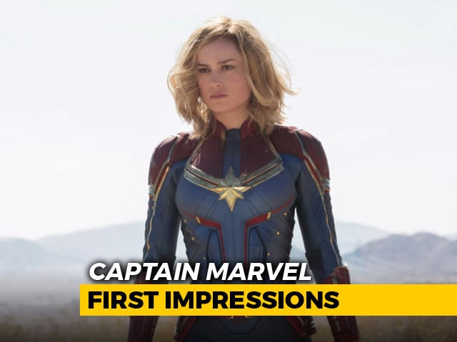 First Impressions Of Captain Marvel