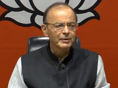 """Bluff Announcement"": Arun Jaitley Shreds Congress Minimum Income Plan"