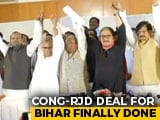 Video : Lalu Yadav's Party 20, Congress 9: Opposition's Seat Sharing In Bihar