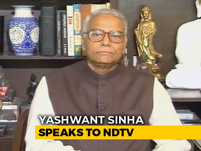 Video: BJP Better Than Opposition At Forming Alliances, Says Yashwant Sinha