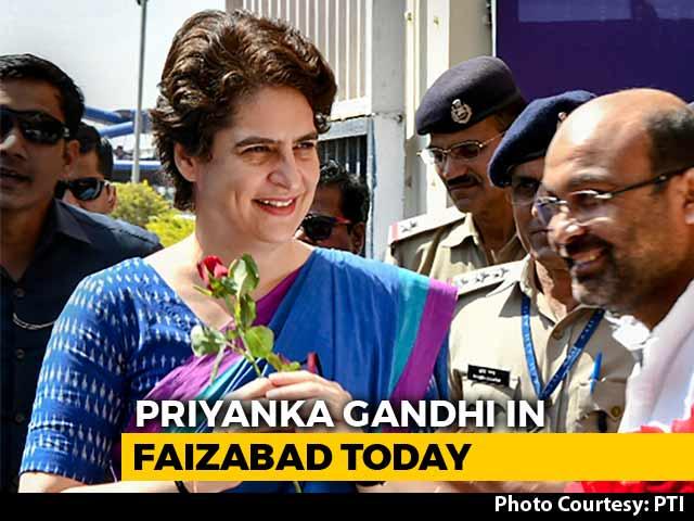 Video : Priyanka Gandhi Vadra To Visit Faizabad Today