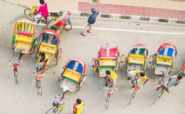 Mahatma Gandhi's Change Mantra On Cycle Rickshaws In Delhi