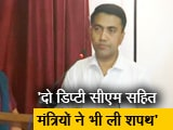 Video : प्रमोद सावंत ने राजभवन में रात 2 बजे आयोजित समारोह में गोवा के मुख्यमंत्री पद की शपथ ली