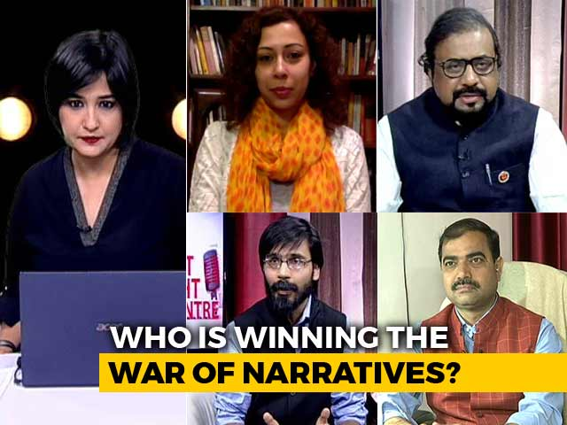 Who Is Winning The War of Narratives?