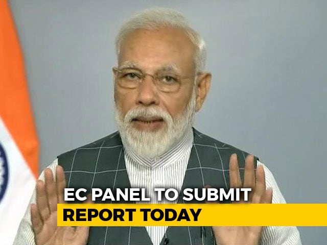 Video : Panel To Submit Report On PM's Mission Shakti Speech To Poll Body Today